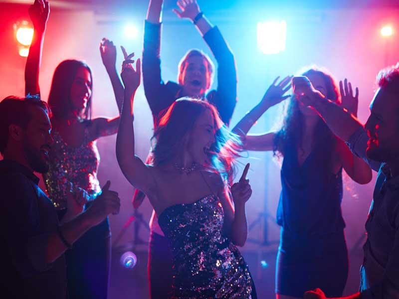 Social Event DJ Party